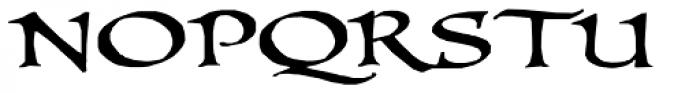 PR Uncial Dual Caps Font UPPERCASE