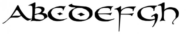 PR Uncial Dual Caps Font LOWERCASE