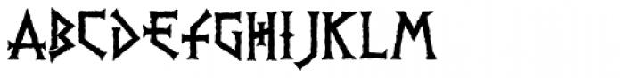 PR-Viking Font LOWERCASE