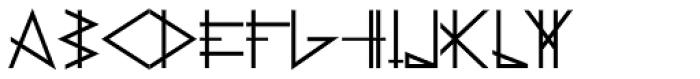 PRIMITIVE Bold Font LOWERCASE
