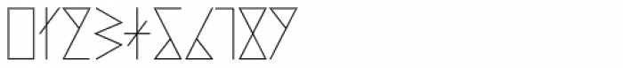 PRIMITIVE Font OTHER CHARS