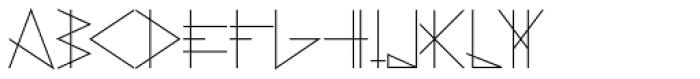 PRIMITIVE Font LOWERCASE