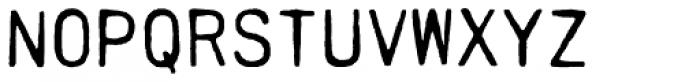 PRINTF Font LOWERCASE