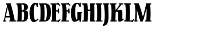 Pracht Antiqua NF Font UPPERCASE