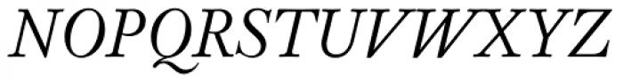 Pradell Italic Font UPPERCASE