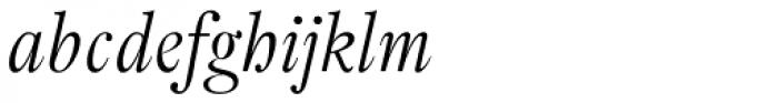 Pradell Italic Font LOWERCASE
