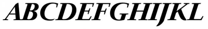 Prado BQ Bold Italic Font UPPERCASE