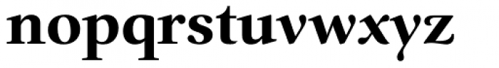 Prado BQ Bold Font LOWERCASE