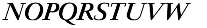 Prado BQ Medium Italic Font UPPERCASE