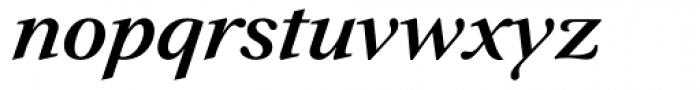 Prado BQ Medium Italic Font LOWERCASE
