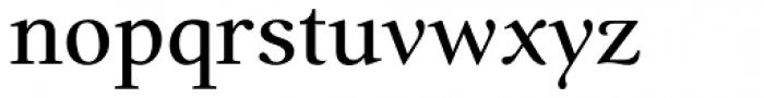 Prado BQ Reg OsF Font LOWERCASE
