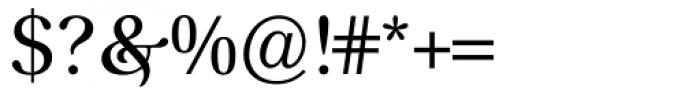 Prado BQ Regular Font OTHER CHARS