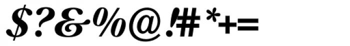 Prado Swash BQ Bold Italic OsF Font OTHER CHARS