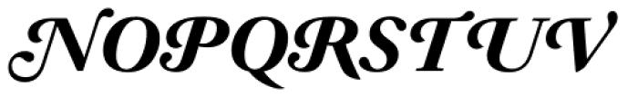 Prado Swash BQ Bold Italic OsF Font UPPERCASE