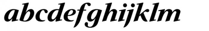 Prado Swash BQ Bold Italic OsF Font LOWERCASE