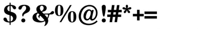 Prado Swash BQ Bold OsF Font OTHER CHARS