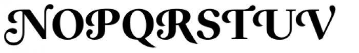 Prado Swash BQ Bold OsF Font UPPERCASE
