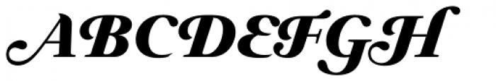 Prado Swash BQ ExtraBold Italic OsF Font UPPERCASE