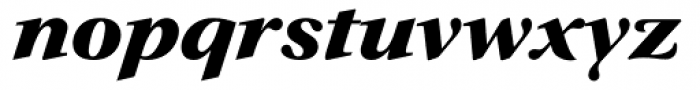 Prado Swash BQ ExtraBold Italic OsF Font LOWERCASE