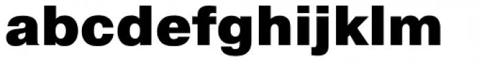 Pragmatica Black Font LOWERCASE