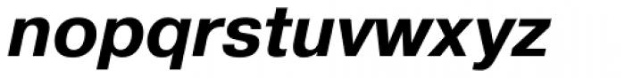 Pragmatica Bold Oblique Font LOWERCASE