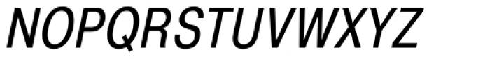 Pragmatica Cond Book Oblique Font UPPERCASE
