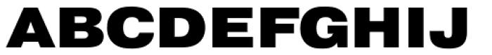 Pragmatica Ext Black Font UPPERCASE