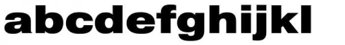 Pragmatica Ext Black Font LOWERCASE