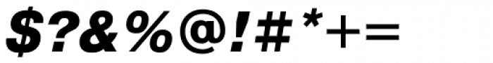 Pragmatica ExtraBold Oblique Font OTHER CHARS
