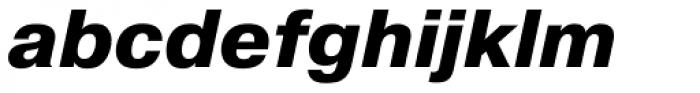 Pragmatica ExtraBold Oblique Font LOWERCASE