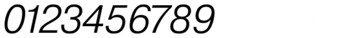 Pragmatica Light Oblique Font OTHER CHARS