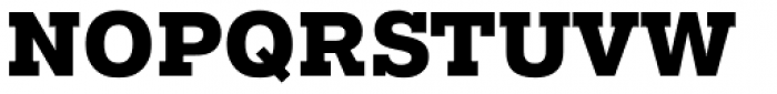 Pragmatica Slabserif ExtraBold Font UPPERCASE