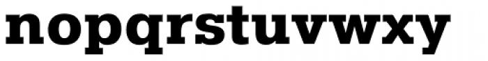 Pragmatica Slabserif ExtraBold Font LOWERCASE