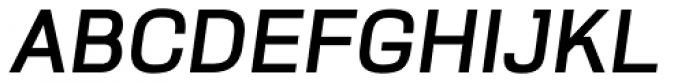 Pragmatik Bold Italic Font UPPERCASE