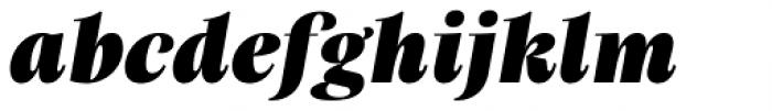 Praho Pro Black Italic Font LOWERCASE