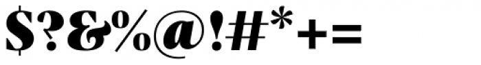 Praho Pro Black Font OTHER CHARS