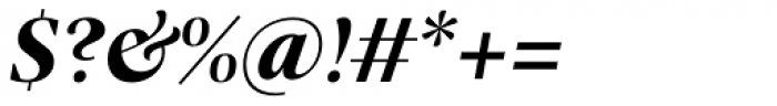 Praho Pro Bold Italic Font OTHER CHARS