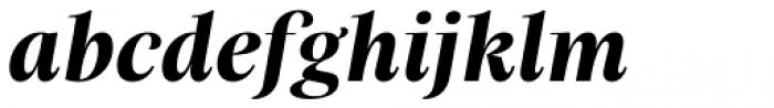 Praho Pro Bold Italic Font LOWERCASE