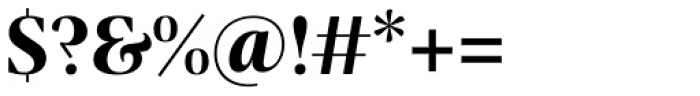 Praho Pro Bold Font OTHER CHARS