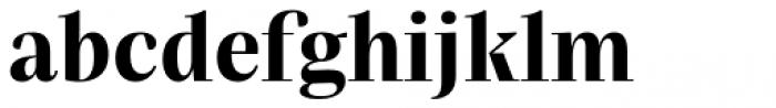 Praho Pro Bold Font LOWERCASE