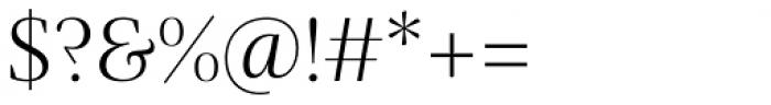 Praho Pro Light Font OTHER CHARS