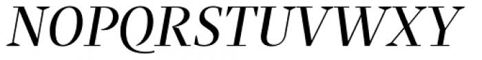 Praho Pro Regular Italic Font UPPERCASE