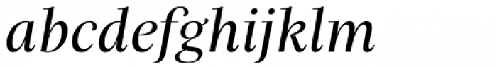 Praho Pro Regular Italic Font LOWERCASE