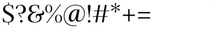 Praho Pro Regular Font OTHER CHARS