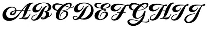 Praise Formal Font UPPERCASE