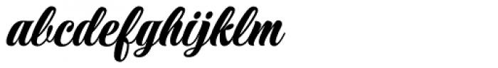 Praise Formal Font LOWERCASE