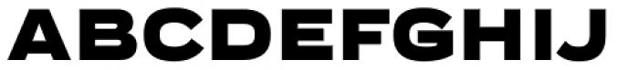 Praktika Black Extended Font UPPERCASE
