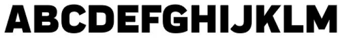 Praktika Black Font UPPERCASE