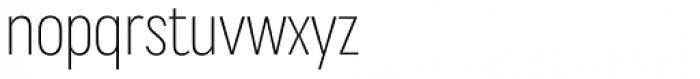 Praktika Light Condensed Font LOWERCASE