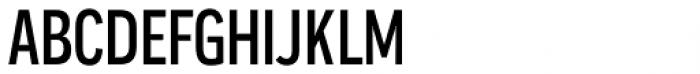Praktika Medium Condensed Font UPPERCASE